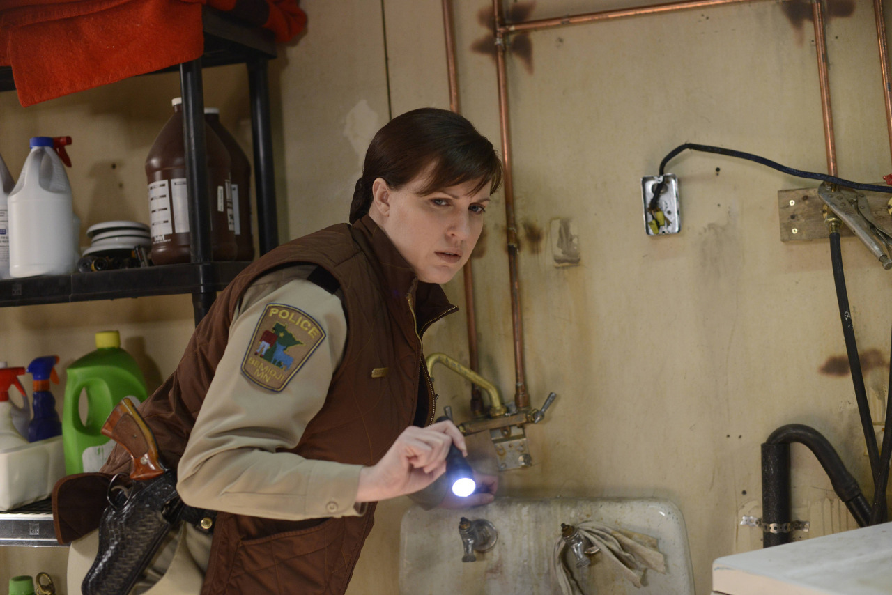 "FARGO ""The Six Ungraspables"" -- Episode 105 -- Airs Tuesday, May 13, 10:00 pm e/p) -- Pictured: Allison Tolman as Molly Solverson -- CR: Chris Large/FX"